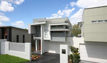 Custom home builders designers south east queensland for Award winning narrow lot house plans
